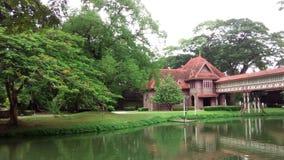 Palastgarten stockbild