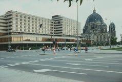 Palasthotel en Berliner Dom Stock Foto's