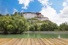 Palata Palace at Tibet of china Stock Photos
