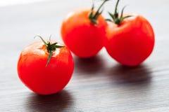 Palatable fresh tomatoes Stock Photo