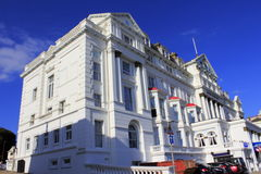 Palatial building Hastings United Kingdom Stock Images
