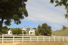 Palatial Country home Royalty Free Stock Photos