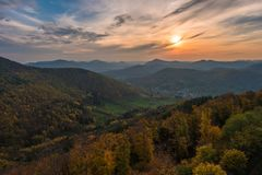 Palatinate Forest Royalty Free Stock Photography