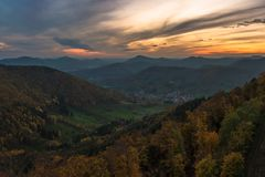 Palatinate Forest Royalty Free Stock Images