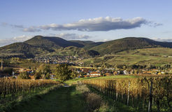 Palatinate Wine Country Royalty Free Stock Images
