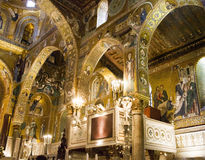 Palatine Chapel in Palermo, Italy Stock Image