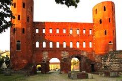 Palatine Gates Turin Italy Royalty Free Stock Image