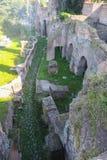 Palatine-Hügel in Rom Stockfotos