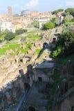 Palatine Heuvel in Rome Royalty-vrije Stock Afbeelding
