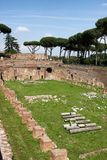 Palatine Hill in Rome Royalty Free Stock Photo
