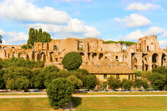 Palatine Hill Rome, Italy Royalty Free Stock Images