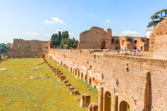 Palatine Hill, Rome, Italy Stock Images