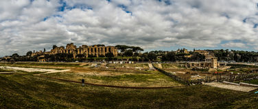 Palatine Hill in Rome, Italy Stock Image