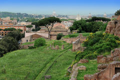 The Palatine Hill, Rome, Italy Royalty Free Stock Images