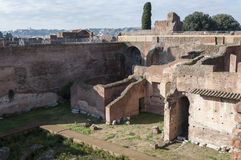 The Palatine Hill Stock Images