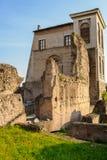 Palatine Hill ruins, Rome, Italy Stock Photos