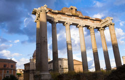 Palatine. And roman forum in rome Stock Photography