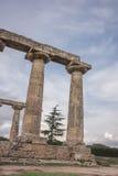 Palatine Tables, Hera Sanctuary in Metaponto, Basilicata, Italy Stock Photos