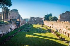 Palatino kulle i Rome Arkivbilder