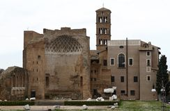 Palatino ruins in Rome, Italy Royalty Free Stock Photos