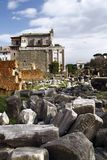 Palatino ruins in Rome, Italy Royalty Free Stock Photo