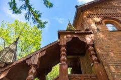 Palatslika salles för medeltida ryssadel och kammare, Uglich, Ryssland Royaltyfri Bild