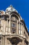 Palatul Camerei DE Comert Si Industrie in Boekarest Stock Foto's