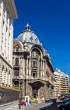 Palatul Camerei de Comert si Industrie in Bucharest. Romania stock photo