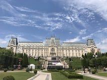 Palatul Culturii, Rumunia - Obraz Stock