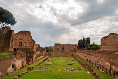 Palatynu stadium Rzym fotografia royalty free