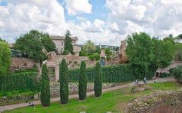 Palatynu wzgórze w Rzym Zdjęcie Stock
