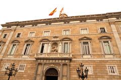Palau de Generalitat στη Βαρκελώνη Στοκ φωτογραφία με δικαίωμα ελεύθερης χρήσης