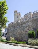Palau de l'Almudaina, Palma de Mallorca, Spagna Fotografie Stock