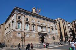 Palau de la Generalitat, Barcelona lizenzfreies stockfoto
