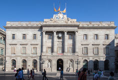 Palau de La Generalitat Barcelona Stock Photography