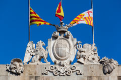 Palau de La Generalitat Barcelona fotos de archivo libres de regalías