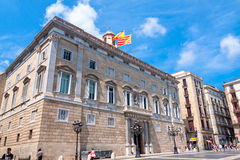 The Palau de la Generalitat Stock Photos