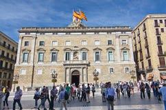 Palau de la Generalitat de Catalunya Stock Images