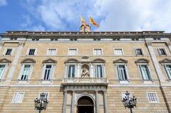 Palau de la Generalitat de Catalunya, Barcelona Stock Images