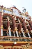 Palau de la Musica Catalana in Barcelona, Spain Stock Image
