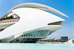 Palau De Las Artes Reina Sofia In Valencia, Spain Stock Images