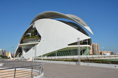 Palau de les Arts Reina Sofia. The Palau de les Arts Reina Sofía is a majestic building designed by the Valencian architect Santiago Calatrava Royalty Free Stock Photos