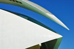 Palau DE les Arts, Stad van Kunsten en Wetenschappen Stock Foto's