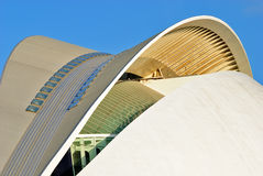 Palau de Les Arts, Stadt von Künsten und von Wissenschaften Stockfotografie