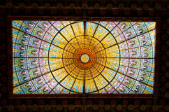 Palau De Los angeles Musica, Barcelona -, Hiszpania Zdjęcia Royalty Free