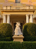Palau de Pedralbes Entrance, Barcelona. Royalty Free Stock Photography