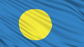 Palau Flag icon. Stock Images
