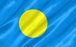 Palau Flag royalty free illustration