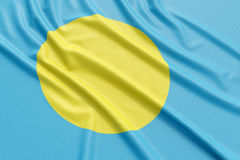 Palau flag Stock Images