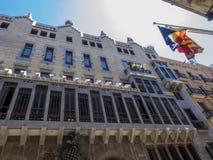 Palau Güell Stock Photography